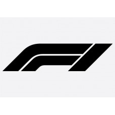 F1 Logo Formula 1 Sticker