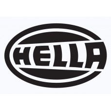 HELLA Vinyl Sticker