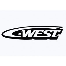 WEST Vinyl Sticker
