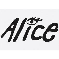 Bike Decal Sponsor Sticker -  Alice