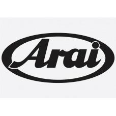 Bike Decal Sponsor Sticker -  Arai