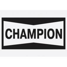 Bike Decal Sponsor Sticker -  Champion