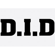 Bike Decal Sponsor Sticker -  DID