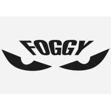 Bike Decal Sponsor Sticker -  Foggy