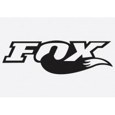 Bike Decal Sponsor Sticker -  Fox