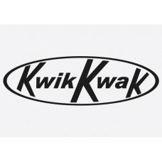 Bike Decal Sponsor Sticker -  Kwik Kak