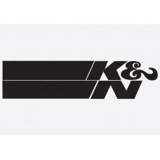 Bike Decal Sponsor Sticker -  K&N