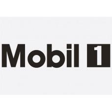 Bike Decal Sponsor Sticker - Mobil 1