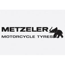Bike Decal Sponsor Sticker - Metzeler