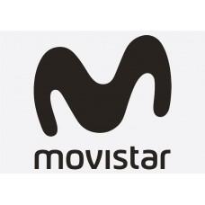 Bike Decal Sponsor Sticker - Movistar