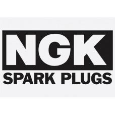 Bike Decal Sponsor Sticker - NGK 2