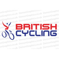 British Cycling Vinyl Sticker