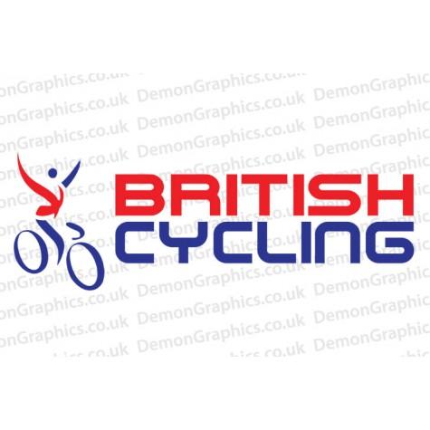 British Cycling Vinyl Sticker