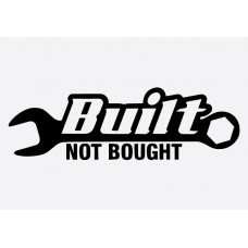 Built not Bought  JDM Graphic