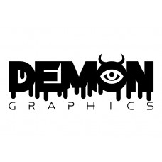 Demon Graphics Brand Sticker 3