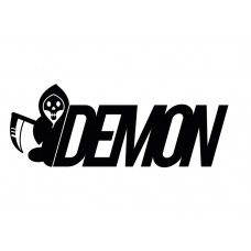 Demon Graphics Brand Sticker 4