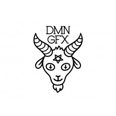 Demon Graphics Brand Sticker 6