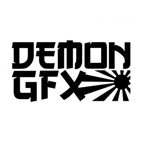 Demon Graphics Brand Sticker 7