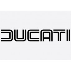 Bike Decal - Ducati 2