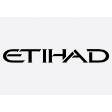 Etihad Formula 1 Sticker