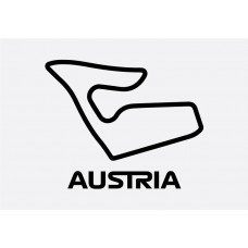 Austria Track Formula 1 Sticker