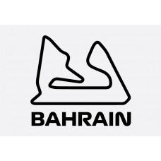 Bahrain Track Formula 1 Sticker