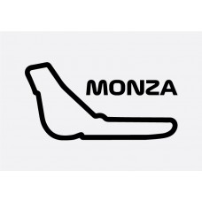 Monza Track Formula 1 Sticker