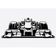 F1 Car Front Formula 1 Sticker