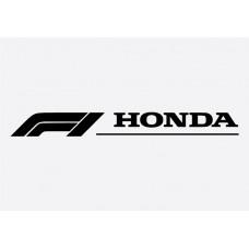 F1 Honda Formula 1 Sticker