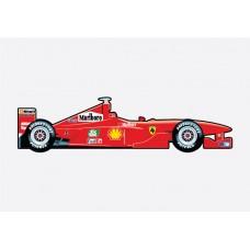 Ferrari F1 2000 Sticker