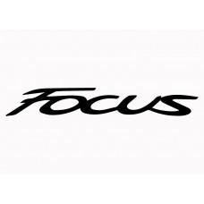 Ford Focus Vinyl Sticker