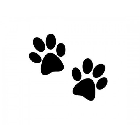 animal paw prints (pack of 20)