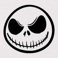 Jack Skeleton Vinyl Sticker