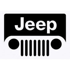 Jeep Badge Vinyl Sticker
