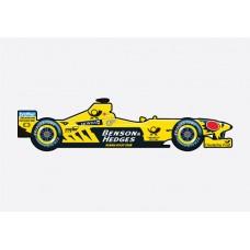 Jordan F1 2000 Sticker
