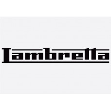 Bike decal - Lambretta 1