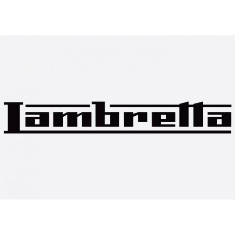 Bike decal - Lambretta 1