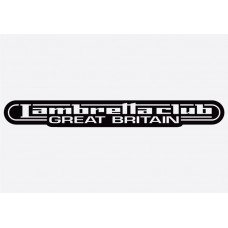 Bike decal - Lambretta 3
