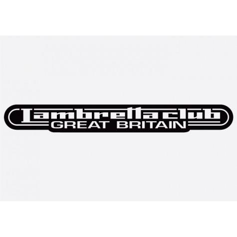 Bike decal - Lambretta 3