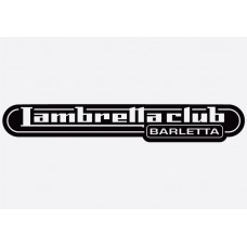 Bike decal - Lambretta 4