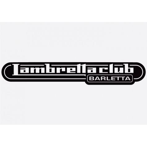Bike decal - Lambretta 4