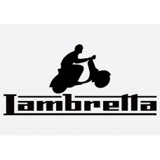 Bike decal - Lambretta 5