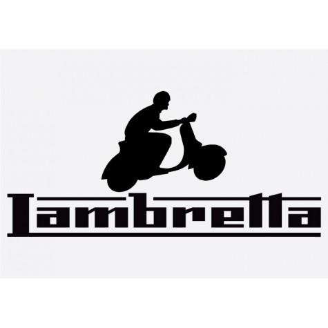 Bike decal - Lambretta 5