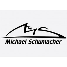 Michael Schumacher Logo Formula 1 Sticker