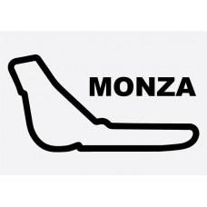 Monza Formula 1 Sticker