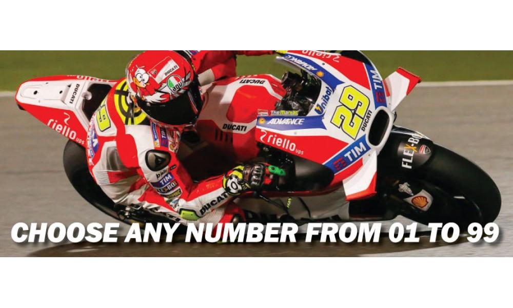 Motorbike Race Numbers