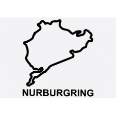 Nurburgring Formula 1 Sticker