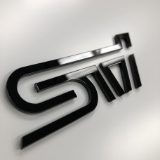 "Subaru STI 3D Perspex Badge (From 5"")"