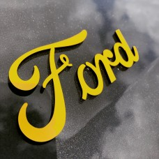 "Ford 3D Perspex Badge (From 5"")"