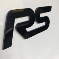 "Ford RS 3D Perspex Badge (From 5"")"